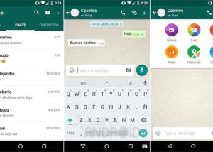 WhatsApp for Android download screenshot